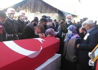 Şehit er Enes Yıldız Ardahan'da son yolculuğuna uğurlandı