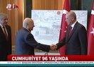 Son dakika: Başkan Erdoğan Beştepe'de tebrikleri kabul etti |Video