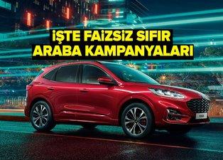 0 faizli araba kampanyaları 2020 | Faizler sıfırlandı: Sıfır araba almak isteyenler dikkat! İşte marka marka otomobil kampanyaları