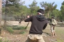 Afrin'de PKK/PYD'ye ait silahlı eğitim kampı ele geçirildi!