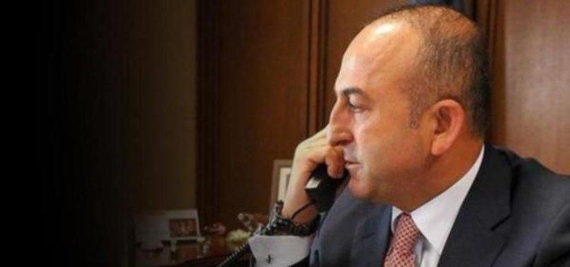 ÇAVUŞOĞLU'NDAN TMV BAŞKANI AKGÜN'E TAZİYE TELEFONU