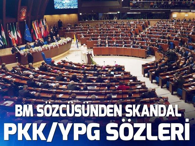 BM'DEN SKANDAL PKK/YPG SÖZLERİ