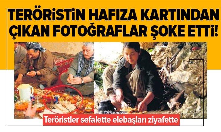 Teröristin hafıza kartından çıkan fotoğraflar şoke etti!
