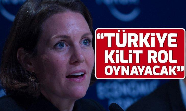 Martina Larkin: Türkiye kilit rol oynayacak