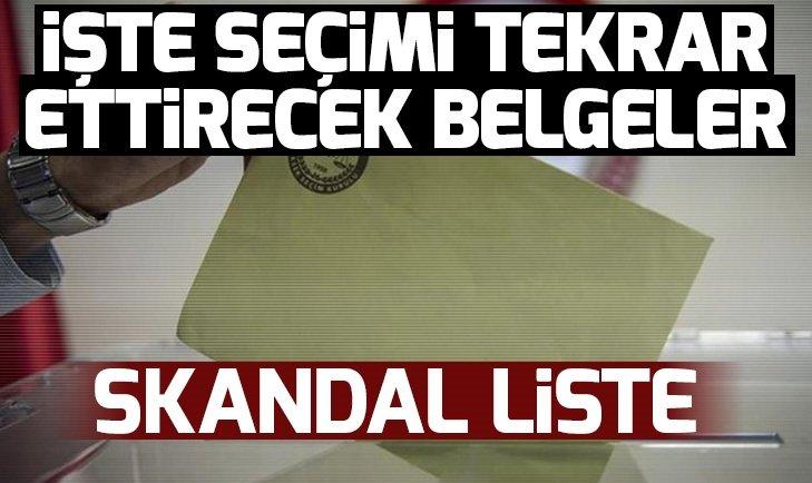 İstanbul'da seçimi tekrarlatacak yeni belgeler! İşte seçim usulsüzlüğünün bir kanıtı daha