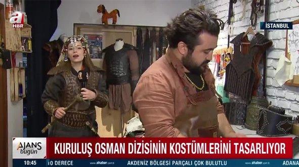 A Haber görüntüledi! Kuruluş Osman'ın kostümleri bu atölyeden çıkıyor