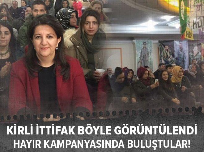 CHP 'HAYIRSEVER' TERÖRİSTLERLE İŞBİRLİĞİ İÇİNDE