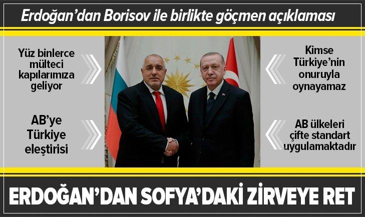 Erdoğan: AB ülkeleri çifte standart uyguluyor
