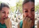 Hindistan'da mahsur kalan Seda Yavaş, gözyaşları içinde yardım istedi