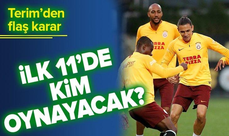 İŞTE GALATASARAY SİVASSPOR MAÇI İLK 11'LERİ...