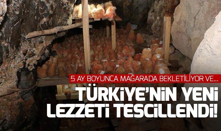 Türkiye'nin yeni lezzeti Divle Obruk Peyniri tescillendi