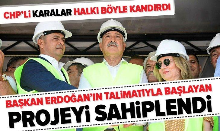 CHP'Lİ ZEYDAN KARALAR ADANALILAR'I KANDIRDI