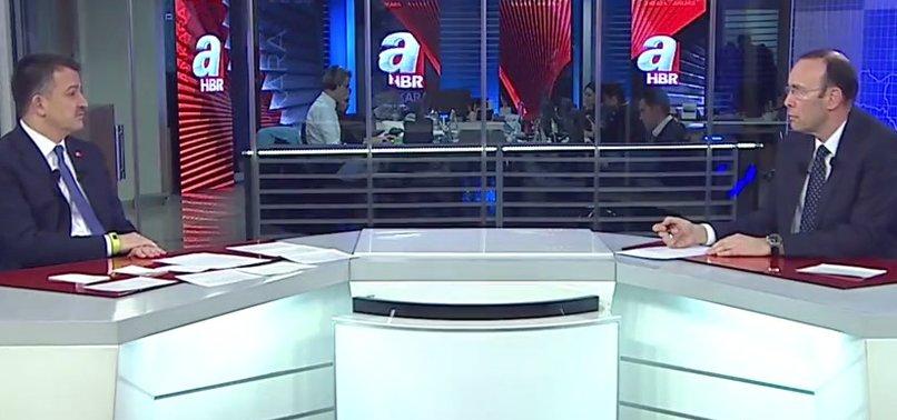 SON DAKİKA: TARIM BAKANI'NDAN  A HABER'DE AÇIKLAMALAR