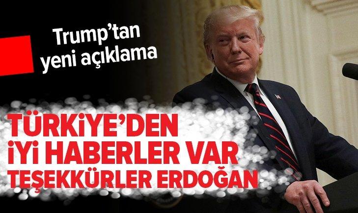 Erdoğan - Pence görüşmesinin ardından Trump'tan açıklama