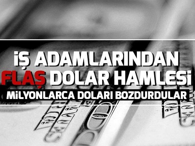 Bize dolar değil vatan lazım