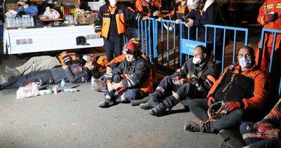 Kahramanlar İzmir'de gecesini gündüzüne katıyor! Arama kurtarma ekiplerinden insan üstü mücadele