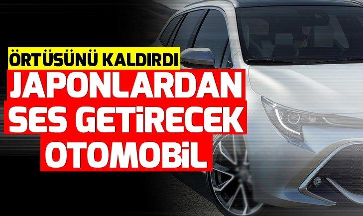 TOYOTA COROLLA TOURİNG SPORTS ÖRTÜSÜNÜ KALDIRDI