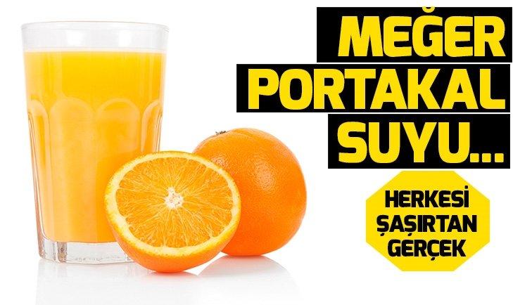 Portakalın faydaları neler? Portakal suyunun ve portakal kabuğunun bilinmeyen fayları neler?