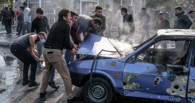 Ermenistan sivilleri hedef alıyor! İşte savaş suçunun fotoğrafları...