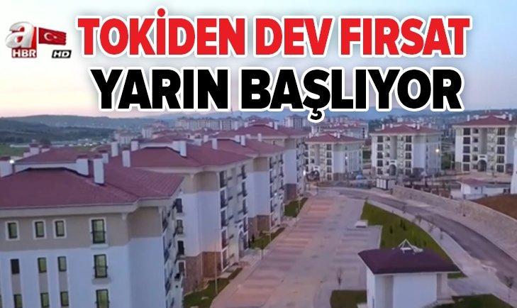 TOKİ'DEN DEV FIRSAT!