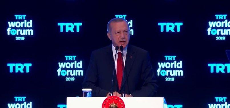 ERDOĞAN'DAN TRT WORLD FORUM 2019DA FLAŞ AÇIKLAMALAR