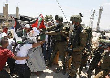 İsrail askerleri Batı Şeria'da 4 Filistinliyi yaraladı