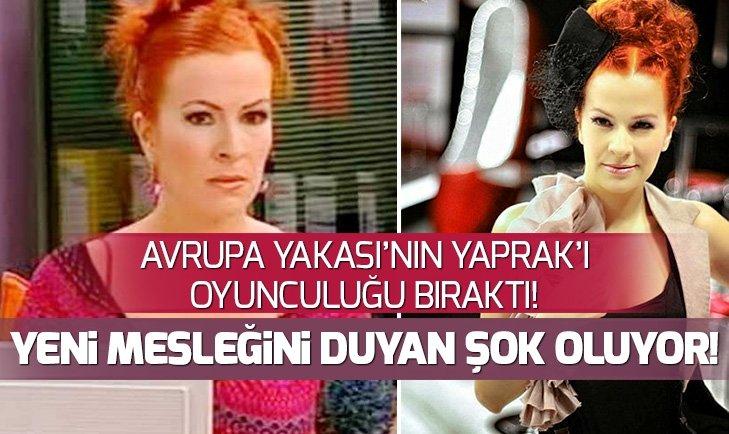 HALE CANEROĞLU'NUN YENİ MESLEĞİ...
