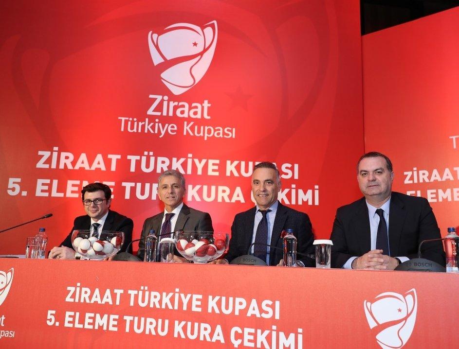 Türkiye Kupası kura çekiminden görüntüler