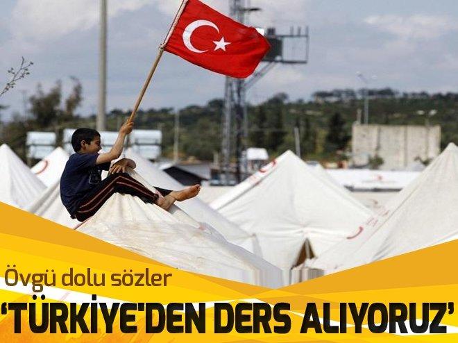 TÜRKİYE'DEN DERS ALIYORUZ