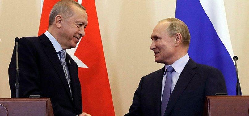 ERDOĞAN-PUTİN GÖRÜŞMESİ RUS BASININDA GENİŞ YER BULDU
