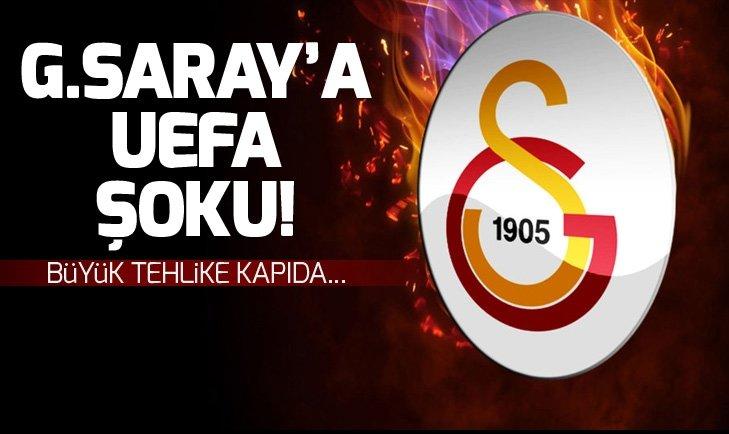 GALATASARAY'DA UEFA ŞOKU! CHRİSTİAN LUYİNDAMA TEHLİKESİ KAPIDA