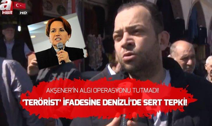 DENİZLİ HALKINDAN AKŞENER'E SERT TEPKİ