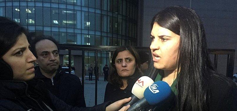 HDP'Lİ DİLEK ÖCALAN SERBEST BIRAKILDI