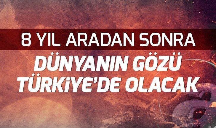 DÜNYA RALLİ ŞAMPİYONASI İÇİN GÖZLER TÜRKİYE'DE!