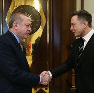 Teslanın kurucu Elon Musk, Cumhurbaşkanı Erdoğan ile görüştü