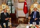 CUMHURBAŞKANI ERDOĞAN, IKBY BAŞKANI BARZANİ'Yİ KABUL ETTİ