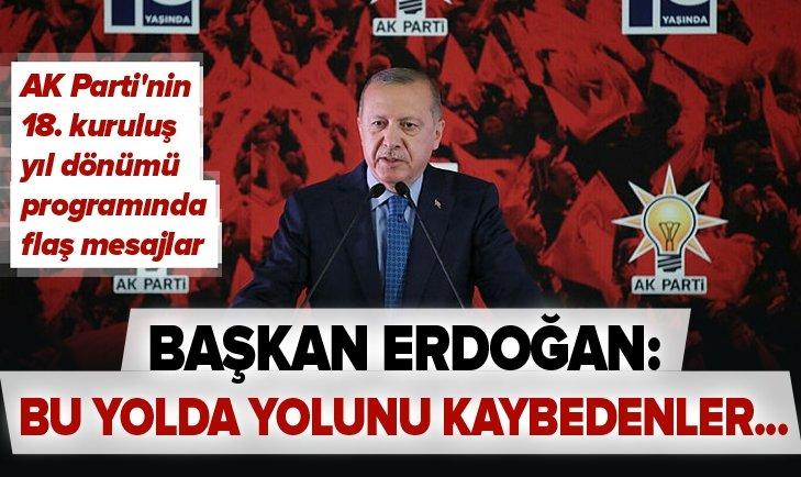 Başkan Erdoğan'dan flaş açıklamalar!