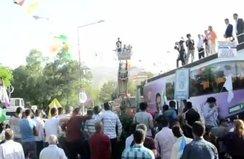 HDP'nin Siirt mitinginde meydan boş kaldı