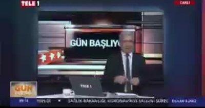 Tele 1 sunucusu Musa Özuğurlu'dan Başkan Erdoğan'a alçak iftira! Merkel'i bu sözlerle savundu