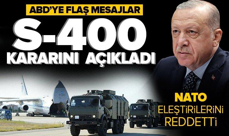 Türkiye Rusya'dan neden S-400 aldı? Başkan Erdoğan New York Times'a açıkladı