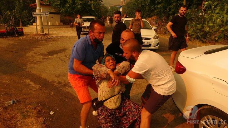 Vatandaşlar canlarını zor kurtardı! Antalya'daki yangın bir mahalleye daha sıçradı