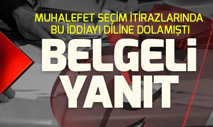 AK Parti'den seçim itirazlarında muhalefetin diline doladığı iddiaya belgeli yanıt