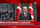 Başkan Erdoğandan İzmir depremi hakkında iftira atan CHP Genel Başkanı Kemal Kılıçdaroğluna tepki