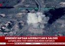 Azerbaycan Savunma Bakanlığı Ermenistan hedeflerinin vurulma anına ait yeni görüntüler yayınladı