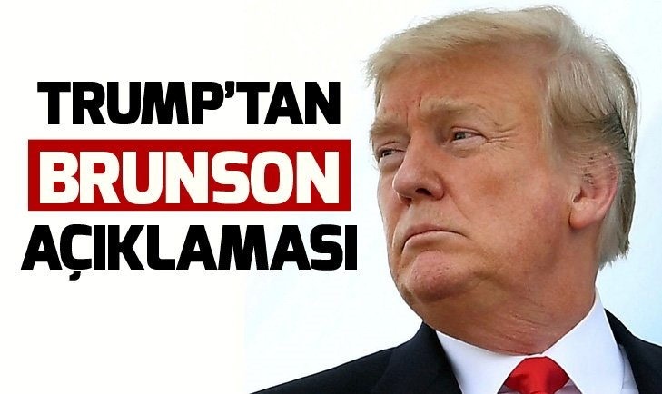 TRUMP'TAN BRUNSON AÇIKLAMASI