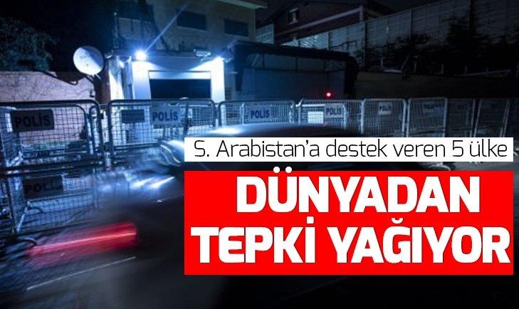 SUUDİ ARABİSTAN'A DESTEK VEREN 5 ÜLKE