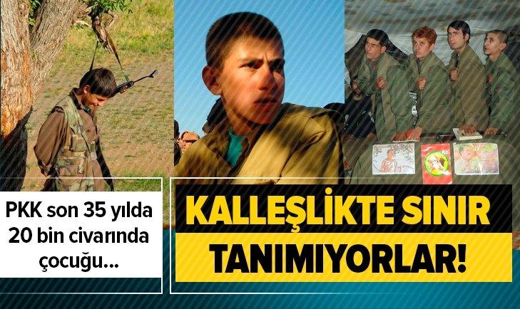 PKK'NIN KİRLİ YÜZÜ! SON 35 YILDA 20 BİN CİVARINDA ÇOCUK...