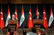 Başkan Erdoğan ve Haydar el-İbadi'den ortak basın toplantısı