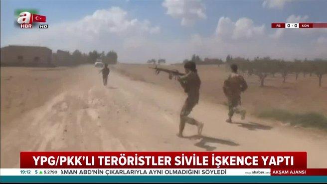 Çoban kılığına giren YPG'liler katliam yapıyor!