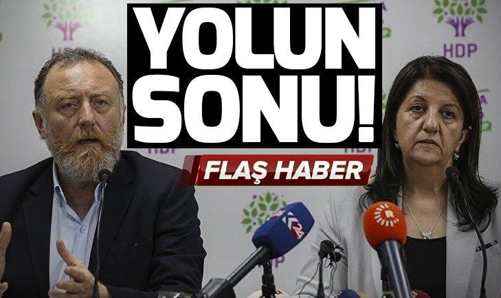HDP sandığa gömüldü Eş Başkanların koltukları sallandı